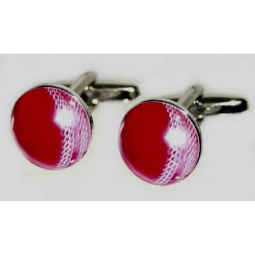 Cricket Ball Sports Cufflinks
