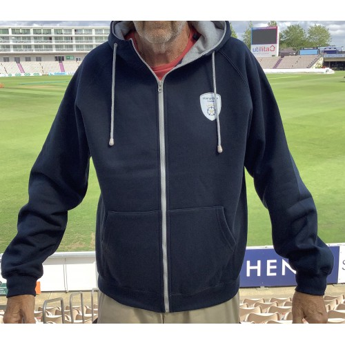 Hampshire Hoodie Zip (Navy/Grey)