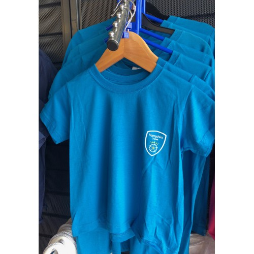 Hampshire Junior Ocean Blue Tee