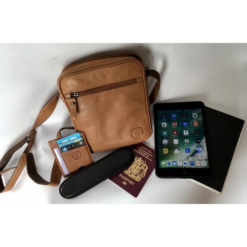 Hampshire Leather Travel Shoulder Bag LIMITED EDITION OF 30