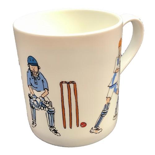 Cricket Character Mug