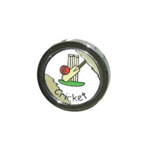 Cricket Themed Lapel Badge