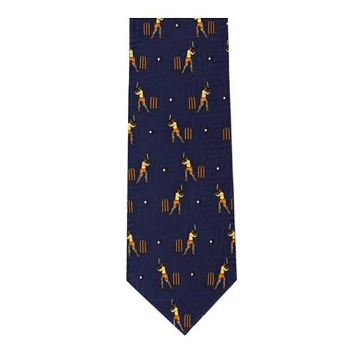 Nostalgic Silk Tie (Navy)